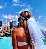bachelorette parties - Wedding Bikini Veil Two Pieces Headpiece Veil hot sell Booty Veil Bachelorette Party Veils Bachelorette Party Set Hen Party Bridal Set