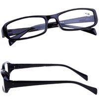 Wholesale 2016 Vintage Reading Glasses Classic Black Frame Vision Care Eyewear Men Women Unisex Fashion Glasses to DCBF254