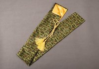 antique chinese embroidery - Japanese Samurai Sword Katana Good Quality Nice Chinese Characters Sword Bag