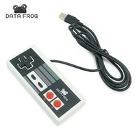 Wholesale Hot Classic USB Controller Gaming Gamer JoyStick Joypad For NES Windows PC for MAC Computer Game Controller Gamepad