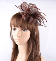 artistic materials - Artistic multiple color available crinoline material fascinator birthday headpiece T platform headwear party hat show hair accessory OF1560