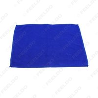 Wholesale High quality X30CM Blue Soft Towel Car Cleaning Microfiber Absorbent Towel Clean Cloth Soft and comfortable