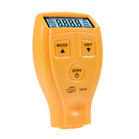 Wholesale LCD Digital Coating Thickness Gauge mm mm Car Painting Paint Thickness Tester Meter Car Diagnostic Tool GM200