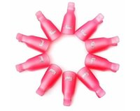 Wholesale Fashion Hot Plastic Nail Art Soak Off Cap Clip UV Gel Polish Remover Wrap Tool Gofuly