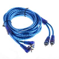 amp feet - 15 FEET CAR AUDIO INTERCONNECT CABLE Car Stereo AMP RCA Blue Channel AMP Audio VEP61 T50