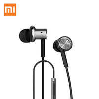apple computer remote - Original Xiaomi Hybrid Earphone with Mic Remote Headset for Xiaomi Redmi Red Mi Mobile Phone In Ear Computer MP3 PC for apple iphone samsung