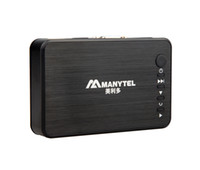 asf mpeg - MANYTEL Full HD P USB External HDD Media Player with HDMI VGA SD Support MKV H RMVB WMV Aluminum Shell