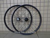 Wholesale Newest quot inch Mountain bike clincher rim K full carbon fibre disc brake carbon bicycle wheelset er MTB parts