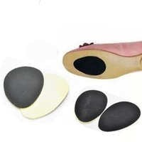 adhesive pad printing - NEW Durable Non Slip Sticker Self Adhesive Anti Slip Sole Shoe Protector Pads Insoles Cushion Black Color