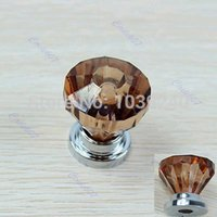 amber knobs - 5pcs Amber Acrylic Door Pull Knob Drawer Cabinet Cupboard Handle mm Hardware Y102