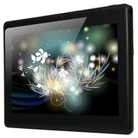 Wholesale 7 inch Q88H Android Tablet PC WVGA Screen A33 Quad Core GHz MB RAM GB ROM WiFi Flashlight