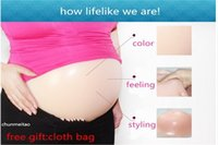 Wholesale LIZ hot sale fake pregnant belly silicone belly g month for cd men women fake pregnant belly