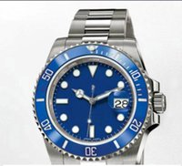 automatic watch movement for sale - Top Brand Lowest Prices Mens Luxury Automatic Mechanical Wristwatches AAA SUB ETA Movement Blue Ceramic Dial Watch For Men Sale
