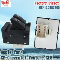 GM-Chevrolet Venture GL8 auto lifter - Factory Direct Master Electric Auto Power Main Window Switch Apply for GM Chevrolet Venture GL8