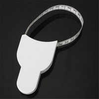 Wholesale inch cm Fitness Measuring Tape Body Fat Weight Loss Measure Retractable Ruler New Arrival High Quality