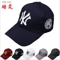 Wholesale 6Color Yankees Hip Hop MLB Snapback Baseball Caps NY Hats MLB Unisex Sports New York Adjustable Bone Women casquette Men Casual headware