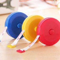 Wholesale New Retractable Ruler Tape Measure inch Sewing Cloth Dieting Tailor M
