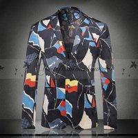 Wholesale Men s Blazers blazer for men suit autumn and winter high quality men s velor Married suit plus blazer slim man outwear jacket M157