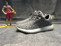 Cheap Adidas Original Kanye West Yeezy Boost 350 2016 Moonrock Kanye Shoes Pirate Black Yeezy 350 Boost Turtle Dove Grey Yeezy With Box