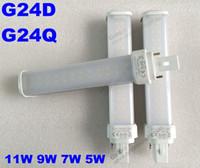 best cfl - Best price white V V V V W PLC CFL LED replacement W G24D G24Q plc pin led g24 lamp
