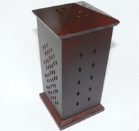 Wholesale Hot sale Top in all directionsWooden smoked incense burner