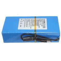 ac dc pack - 2015 New Arrival DC V mAh Li ion Super Rechargeable Battery Pack AC Charger US EU Plug