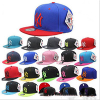 basic baseball - Mens Womens Hip hop Baseball Cap Adjustable Snapback Cap NY Basic Hat Baseball Caps