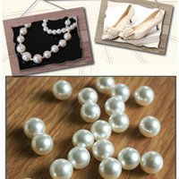 Wholesale 2016 New Arrive Top Quality Grade Beige White Color DIY Handmade Beaded Jewelry Accessories Material ABS Imitation Pearls Scattered Beads wi