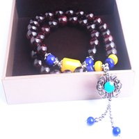 beauty beaded bracelets - Can improve physical vitality and beauty to raise colour Garnet bracelet become the love of choice for ladies classic new deduce