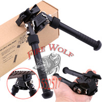 Wholesale 2016 New BT10 LW17 V8 Atlas degrees Adjustable Precision Bipod QD Mount For Rafile Hunting Mount