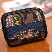 Wholesale Hot Seller Men s Waist Bags Cell Phone Pouch Coin Purses Wallets Multifunction Non woven Size CM Casual EK141