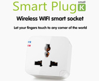 Wholesale WiFi Wireless Smart Power Socket Cell Phone Remote Control Repeater Plug Wholesales