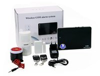 Wholesale Wireless smart GSM alarm system security surveillance system home security alarm