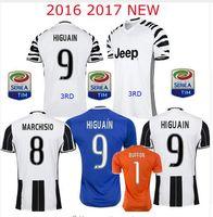 Wholesale DHL Mixed buy JUVe Maglia Higuain Chiellini Pjaca Pajnic Third rd Away Juventus Soccer Jerseys DYBALA Football MARCHISIO Dani