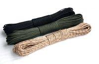 Wholesale Outdoor Survival meter seven core umbrella rope Life saving Rope for Climbing Mountain color spot Bold nylon