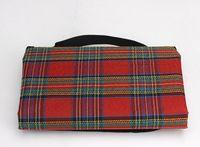 beach cushion - Oxford cloth outdoor picnic mat dampproof mat beach mat Add wool picnic mat picnic mat waterproof thickening cushions