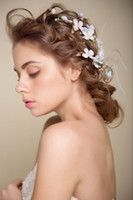 beautiful hair photos - Europe and the United States broken beautiful bride headdress headdress flower hair yarn photo wedding jewelry