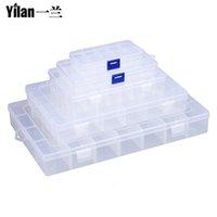 Wholesale Grid Of Transparent Plastic Box Fastener Tool Combination Storage Tool Boxes