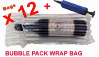 bags for wine bottles - INFLATABLE AIR PACKAGING PROTECTIVE BUBBLE PACK WRAP BAG FOR WINE BOTTLE X