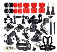 Wholesale 4k Camera Accessories set for Pro Hero Multiple accessories combination SJ6000 SJ7000 small ant Sports Camera set Accessories