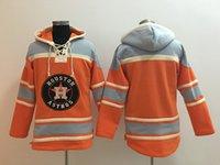 blank baseball jacket - Top Quality Cheap Houston Astros Old Time Baseball Jerseys No Name Number Blank Orange Baseball Hoodie Pullover Sweatshirts Winter Jacket