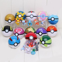 Wholesale Pokeball cm PVC Action Figures PokeBall Mini Model Ball Super Ball Master Ball Kids Toys Gift