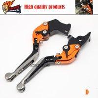 Wholesale Motorcycle Accessories CNC Aluminum Folding Extendable Brake Clutch Levers fits for KTM RC8 R