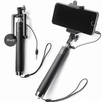 adjustable cable clamps - 2017 Quick Release Clamp Selfie Stick mm Cable Remote Control Self portrait Monopod Extendable Handheld with Adjustable Phone Holder Palo