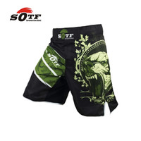 Wholesale SOFT Green Bear Fitness breathable mma fighting workout shorts Tiger muay thai boxing shorts kickboxing shorts pretorian yokkao