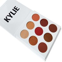 Wholesale NEW Kylie Jenner Kyshadow Palette Burgundy Eyeshadow Colors Eye Shadow Palette DHL