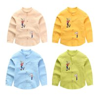 Wholesale 2016 new Autumn cotton solid baby kids Blouse white boy shirts long sleeves for children boys christmas gift