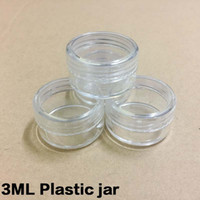 Wholesale ML G Transparent Cream Jar ml Clear Plastic jar empty cosmetic containers