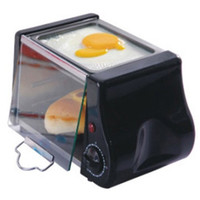 Wholesale 1 L portable electric roaster oven barbecue electric heating machine barbeque plaza Bread machine toaster oven V W minute timer