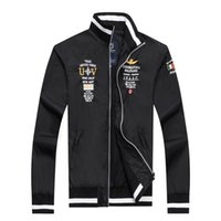 air force trench coat - Brand New aeronautica militare men jacket jaquetas militares Jackets Men s Sport Trench Outerwear Coat Air Force polo Jackets